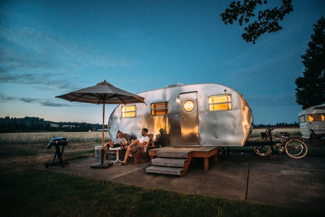 caravane camping